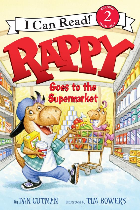 Rappy Goes To The Supermarket ; Ican Read Book 2