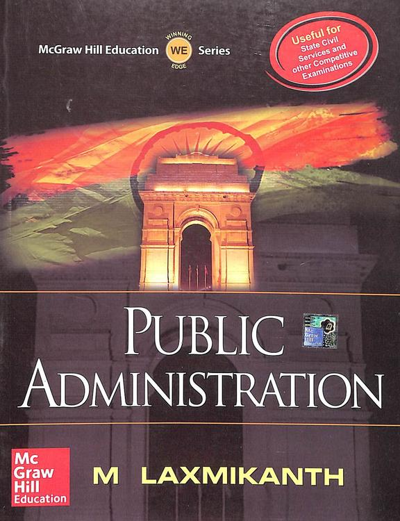 Public Administration For State Civil Services And Other Competitive Exam