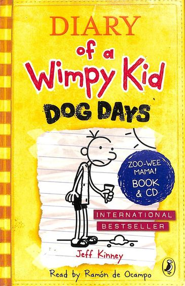 Diary Of A Wimpy Kid 04 : Dog Days With Cd