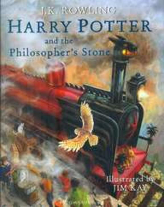 Harry Potter And The Philosopher Stone Illustrated Edition