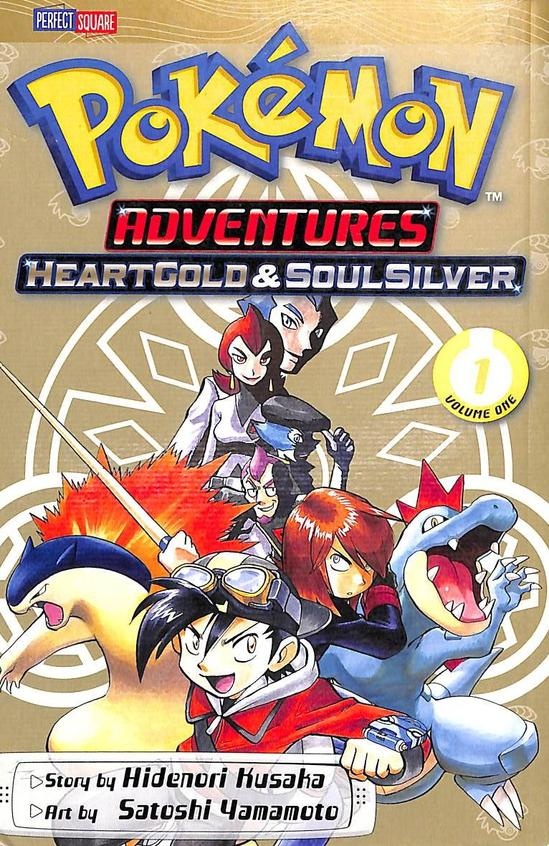Pokemon Adventures Heartgold & Soulsilver Vol 1