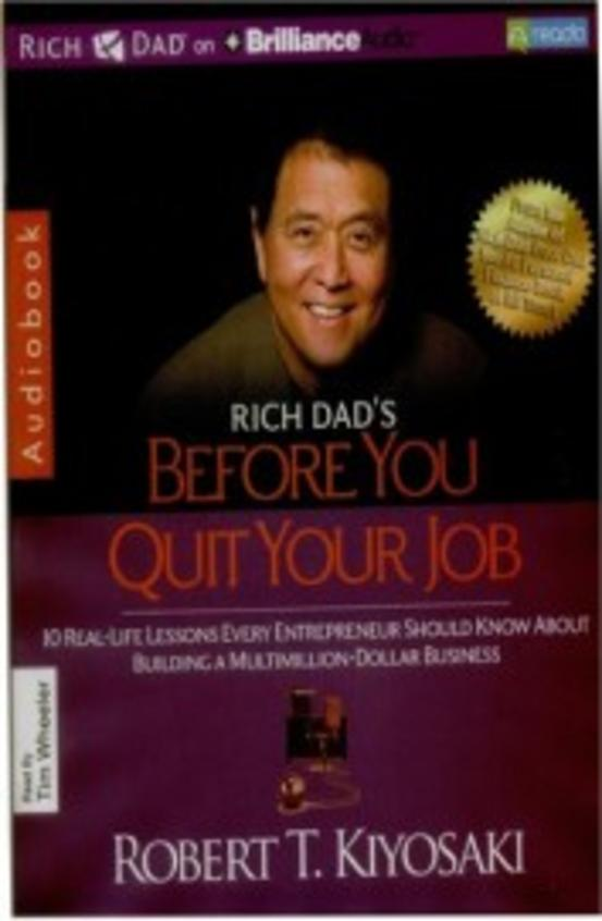 Before you quit your job  (Audio Book)
