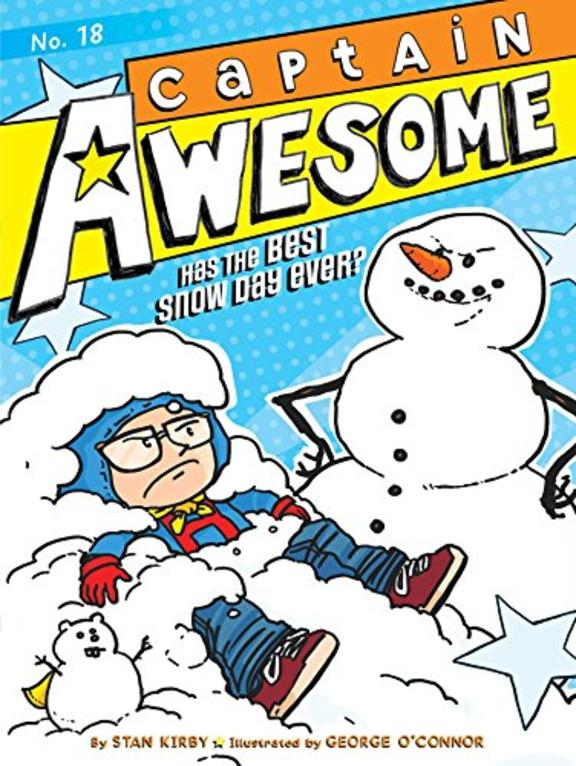 Captain Awesome Has The Best Snow Day Ever