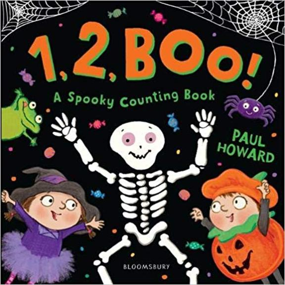 1 2 Boo : A Spooky Counting Book
