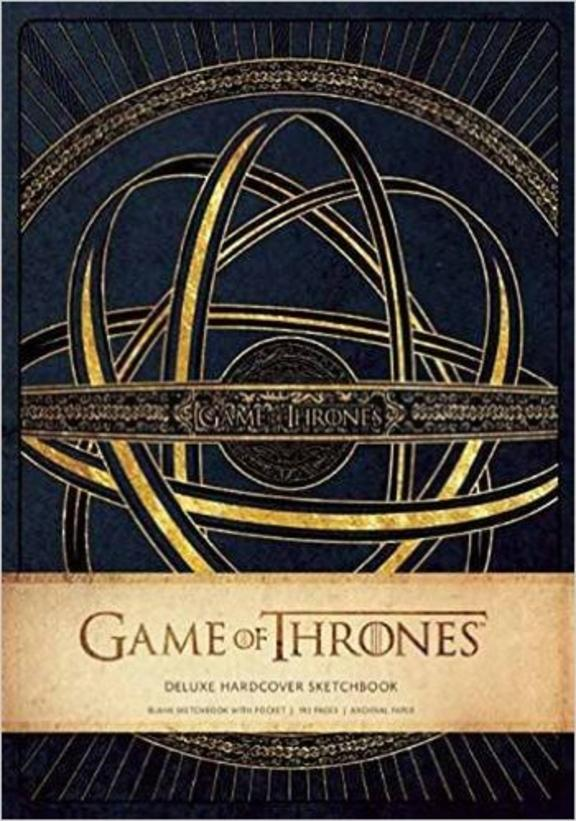 Game of Thrones: Deluxe Hardcover Sketchbook