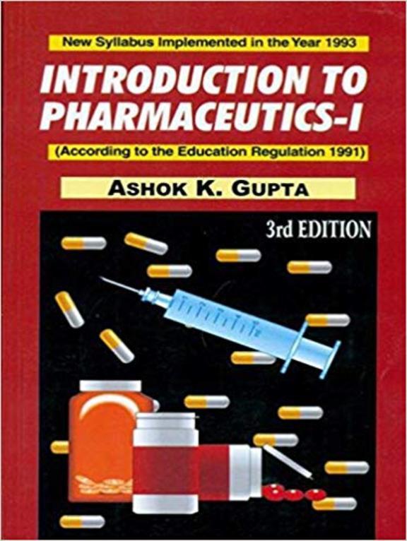 Introduction To Pharmaceutics - 1