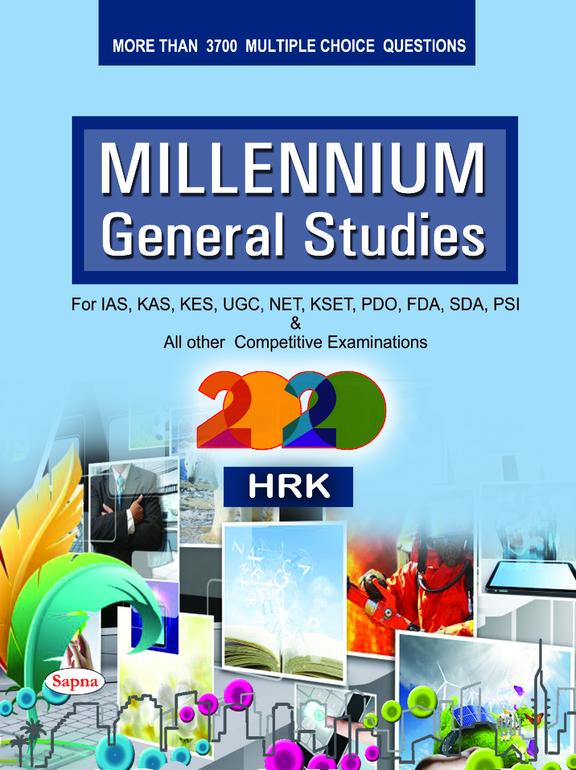 Millennium General Studies For Ias Kas Kes Ugc Net Kset Fda Sda