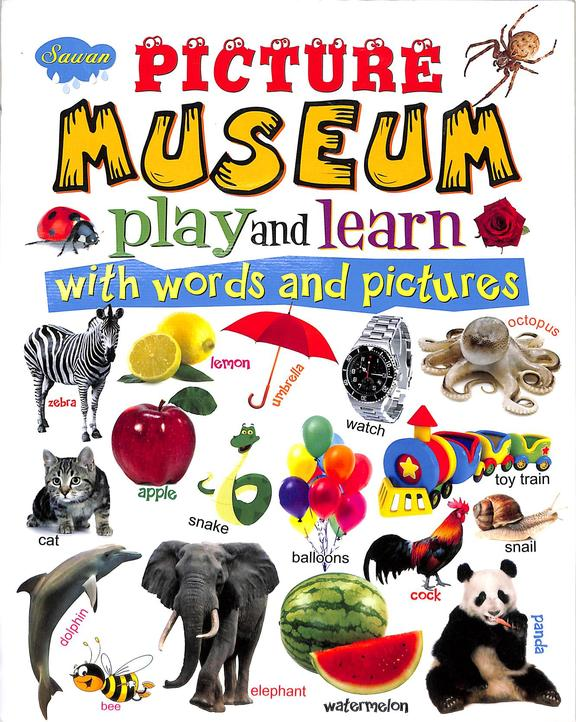Picture Museum Play & Learn With Words & Pictures