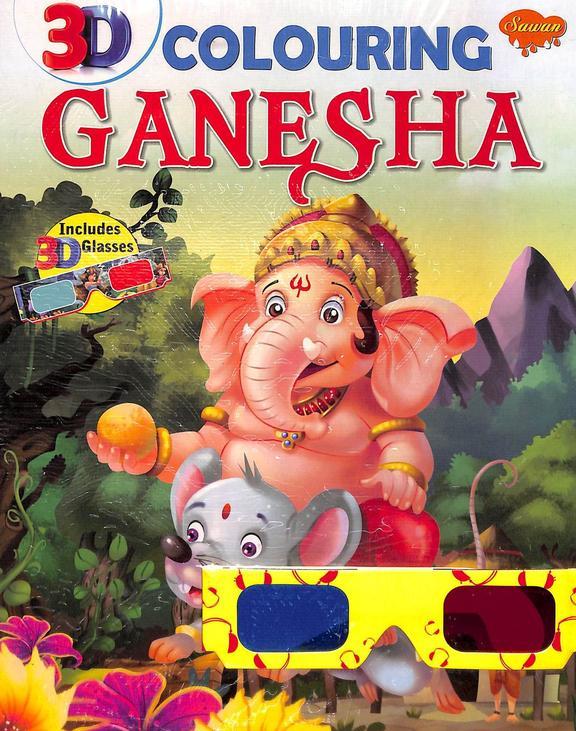 3d Colouring Ganesha