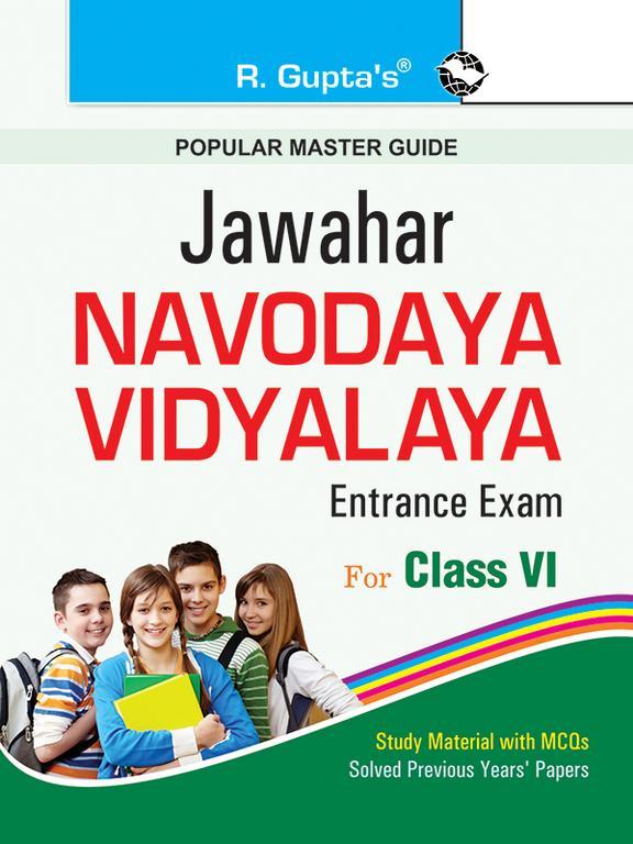 Popular Master Guide Jawahar Navodaya Vidyalaya Entrance Exam For Class  6 : Code  R-1001
