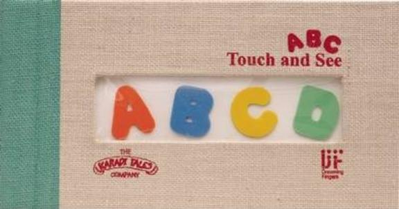 A B C Touch and See Picture Book with Braille