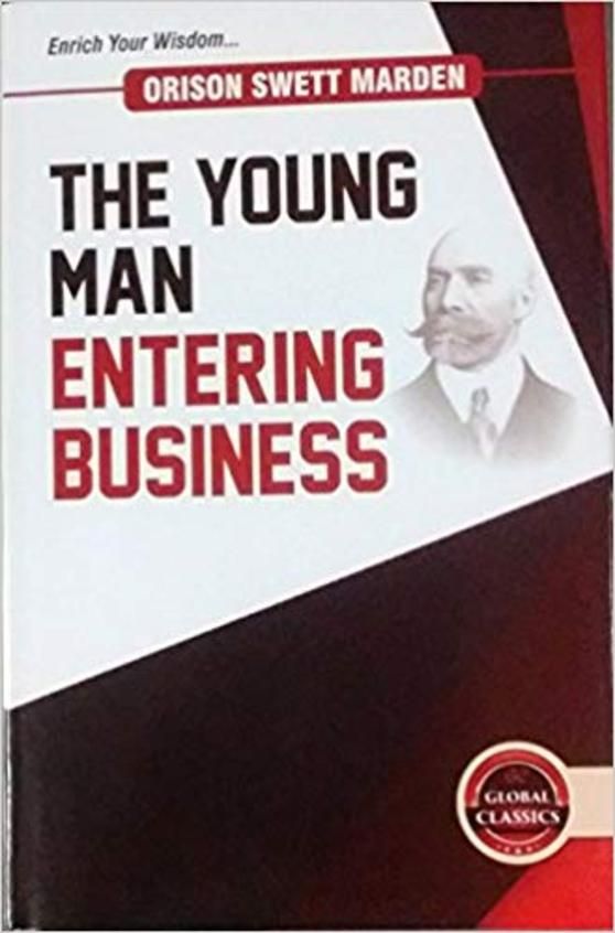 The Young Man Entering Business