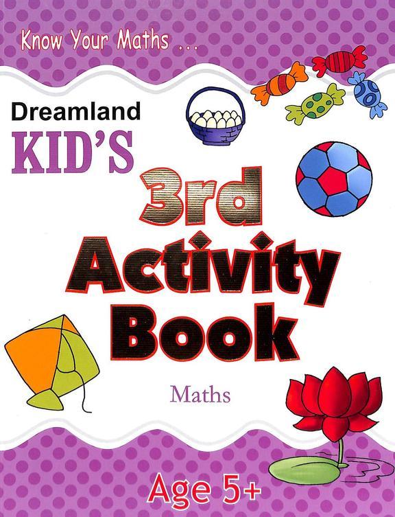 Kids 3rd Activity  Book  Maths  Age 5+