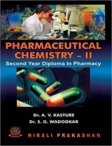Pharmaceutical Chemistry 2- 2 Year Diploma In Pharmacy