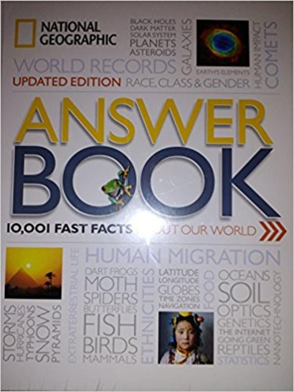 Answer Book, 10001 Fast Facts About our World