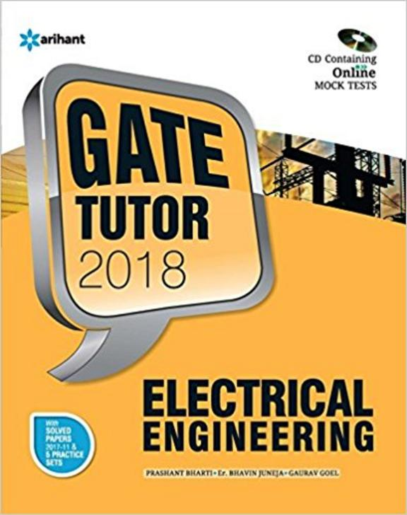 Electrical Engineering Gate Tutor 2018 W/Cd: Code G481