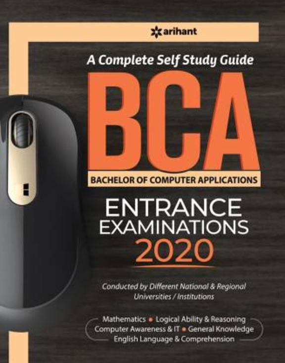 Complete Self Study Guide Bca Entrance Examiantions 2020 : Code G192