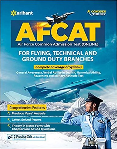 Afcat Air Force Common Admission Test Online  For Flying Technical & Ground Dutty Branch :Code G329