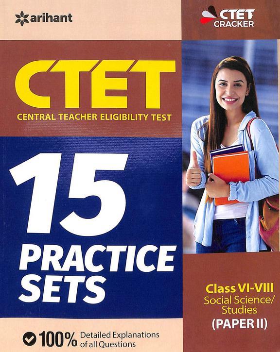 Ctet For 15 Practice Sets Class 6-8 Social Science Studies Paper 2 : Code G222