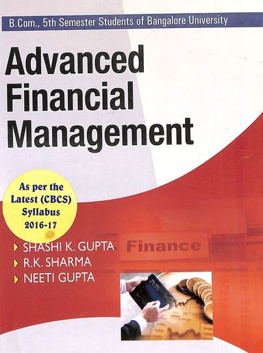 Advanced Financial Management Bcom 5th Sem : Bu