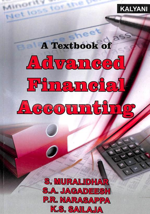 Textbook Of Advanced Financial Accounting For Bcom 2nd Sem : Bu