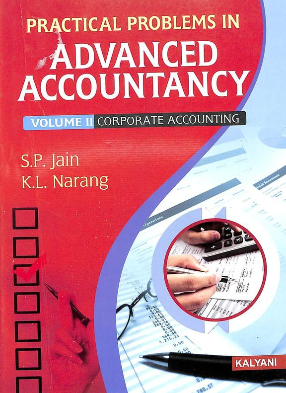 Practical Problems In Advaned Accountancy Vol 2 Corporate Accounting