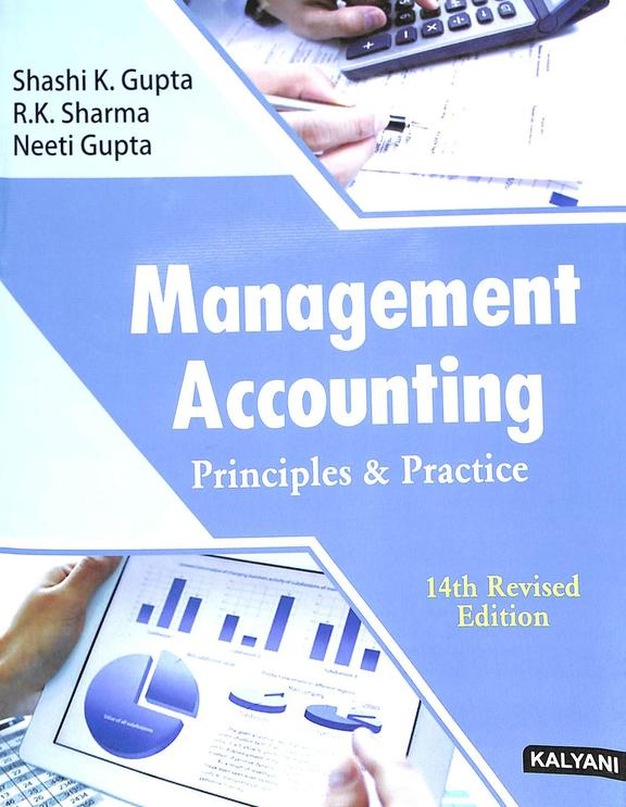 Management Accounting Principles & Practice