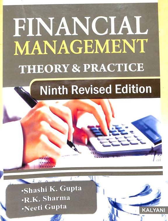 Financial Management Theory & Practice