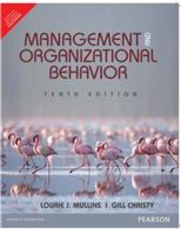 Management & Organizational Behavior