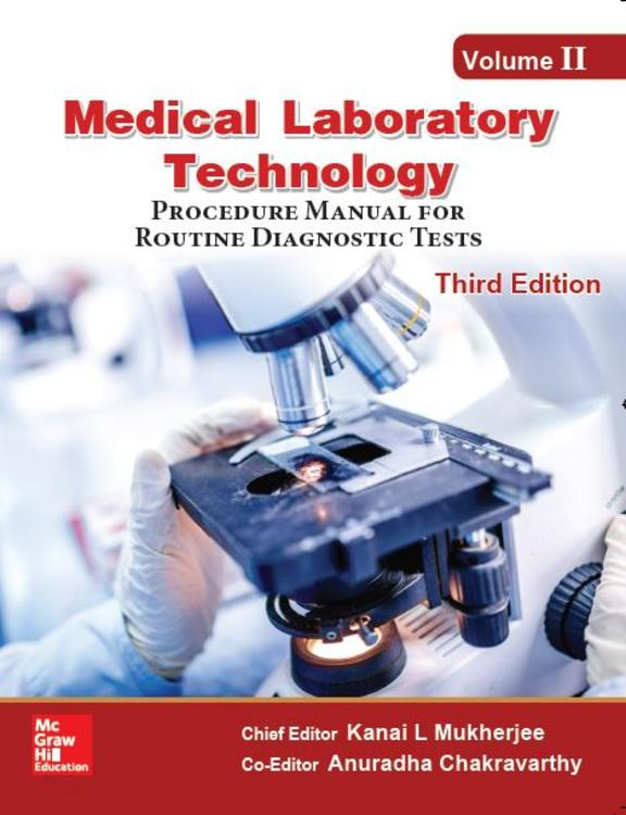 Medical Laboratory Technology- Vol 2 Procedure Manual For Routine Diagnostic Tests