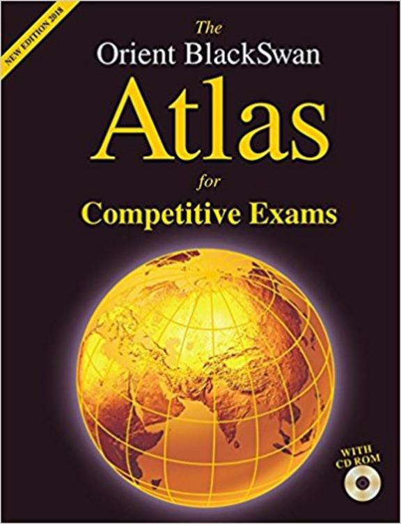 Orient Blackswan Atlas For Competitive Exams