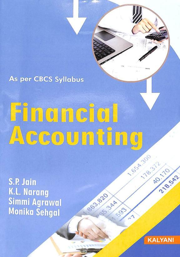 Financial Accounting 1st Sem Bba : Bcu