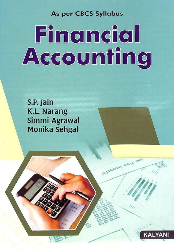 Financial Accounting 1st Sem Bcom : Bu