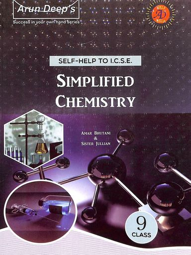 Self Help Simplified Chemistry Class 9 For 2021 Examination : Icse