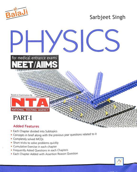Balaji Physics For Medical Entrance Exams - Nta Part 1