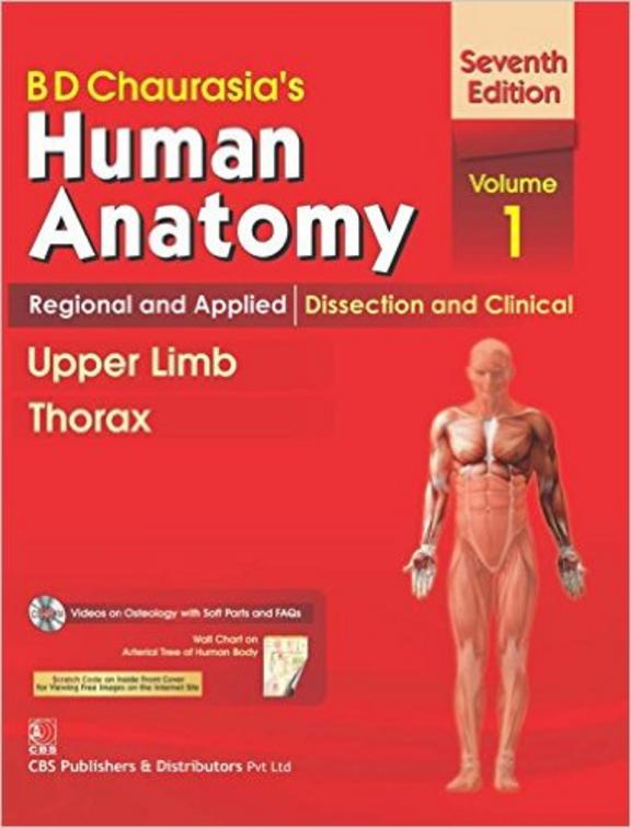 Human Anatomy Upper Limb Thorax Vol 1