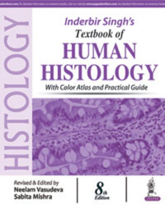 Inderbir Singhs Text Book Of Human Histology With Color Atlas & Practical Guide