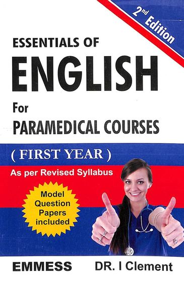 Essentials Of English For Paramedical Courses 1st Year