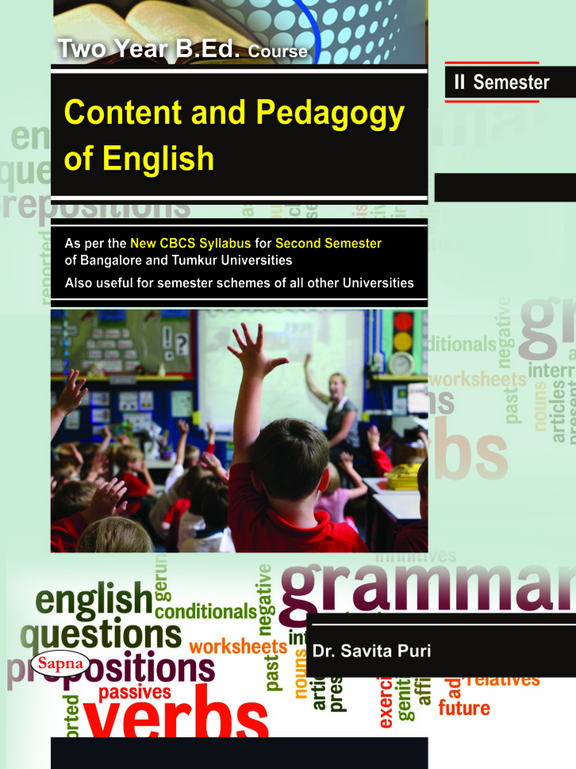 Content & Pedagogy Of English Two Year Bed Course For 2 Sem : Bu Tu