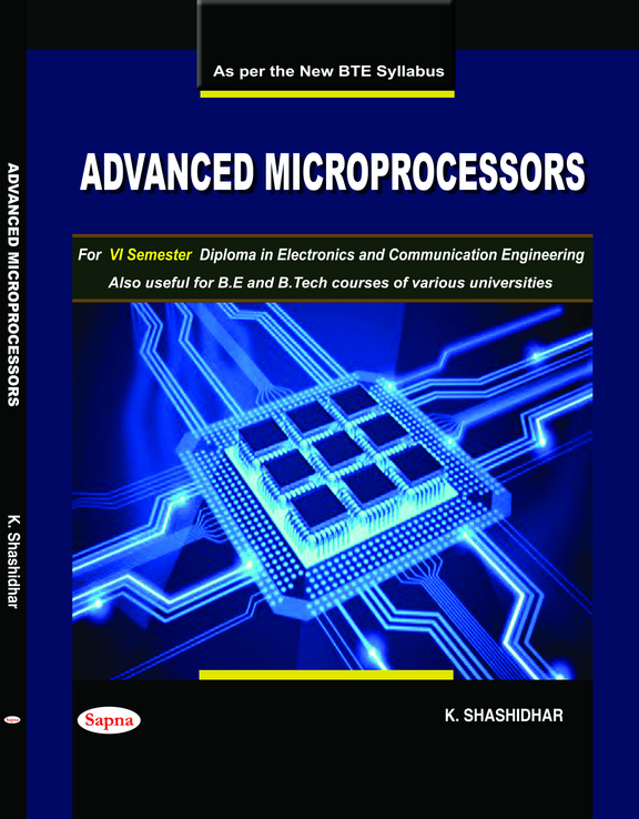 Advance Microprocessors For 6 Sem Diploma In Electronics & Communication Engineering