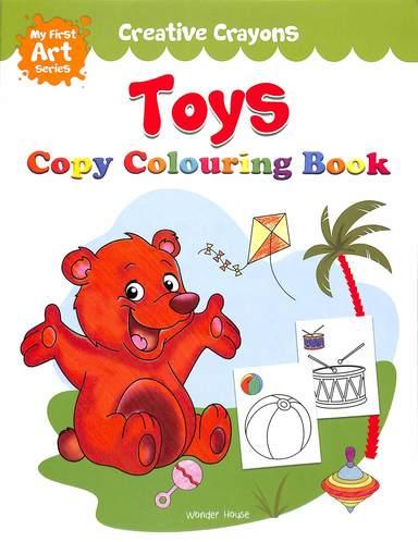 Creative Crayons Toys : Copy Colouring Book