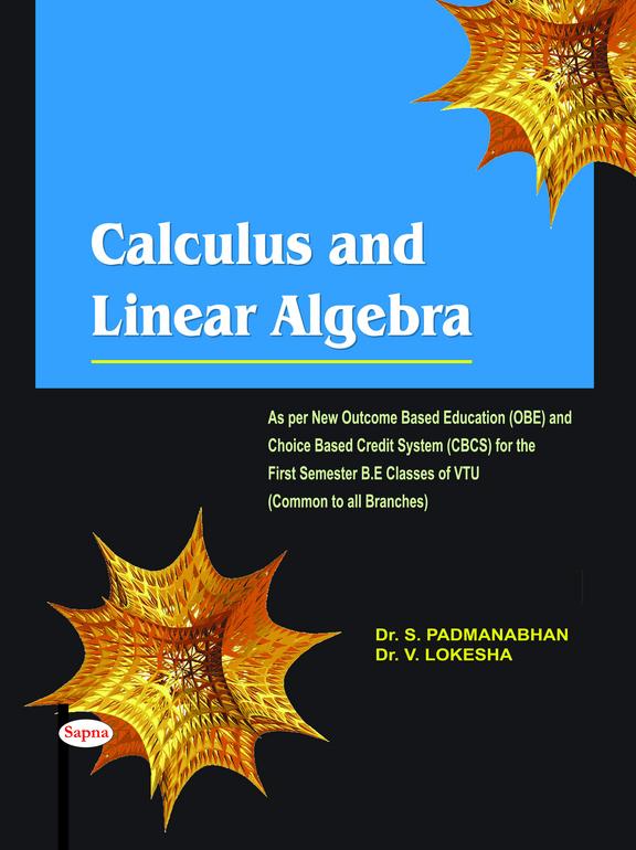 Calculus & Linear Algebra For 1 Sem Be