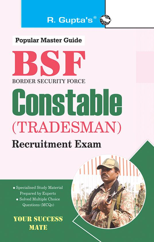 Popular Master Guide Bsf Constable Tradesman Recruitment Exam : Code R2035