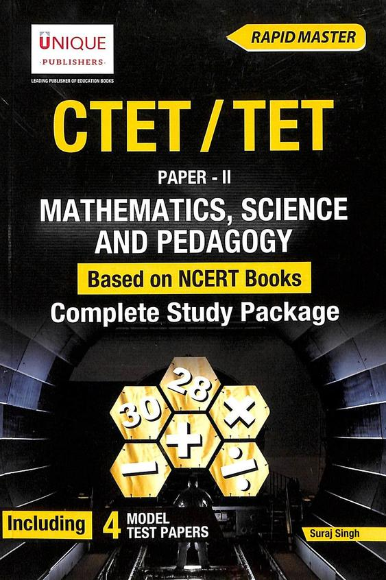 Ctet Tet Paper 2 Mathematics Science & Pedagogy Complete Study Package